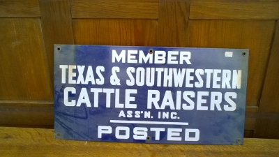 15K24543 METAL TEXAS CATTLE RAISERS SIGN.jpg