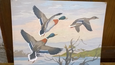 15K24558 UNFRAMED 3 FLYING MALLARD DUCKS.jpg
