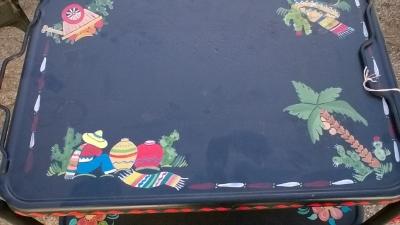 15K24611 MEXICAN BLACK METAL TEA CART (2) .jpg