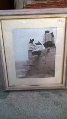 15K24631 FRAMED PRINT OF 4 BIG EARED ROBED CREATURES.jpg