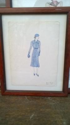 15K24642 FRAMED RUTH BROWN BLUE DRESS.jpg