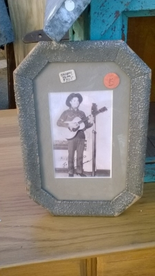 15K24662 FRAMED SINGING COWBOY PHOTO.jpg