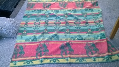 15K24666 RED, GREEN AND YELLOW INDIAN THROW.jpg