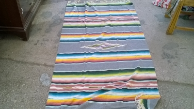 15K24690 RED, GREEN, BLUE AND YELLOW INDIAN RUG.jpg
