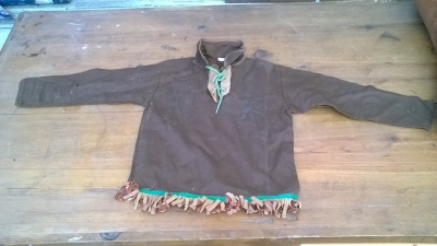 15K24707 BROWN LEATHER CHILD INDIAN SHIRT.jpg