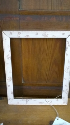 15K24737 WHITE FRAME WITH INCISE CARVED WESTERN THEMES.jpg