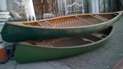 15K24742-45 3 VINTAGE CANOES AND A KAYAK (1).jpg