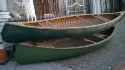 15K24742-45 3 VINTAGE CANOES AND A KAYAK (1).jpg