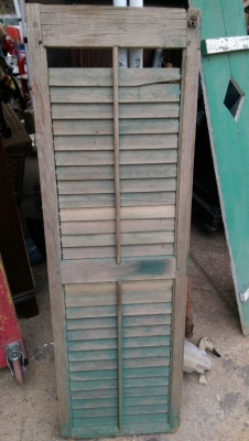 15K24767 AS IS WEATHERED GREEN SHUTTER.jpg